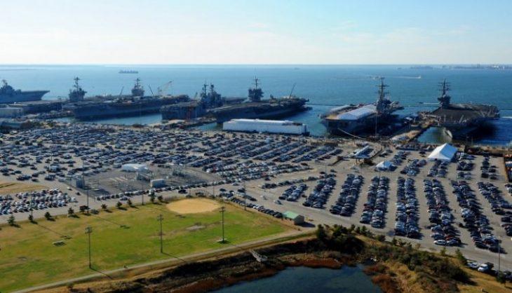 """Фотоэкскурсия по самой большой военной базе в мире """"Норфолк"""""""