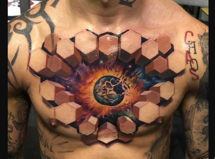 35 самых крутых 3D-татуировок