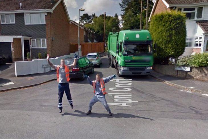 Странные, чудовищные и смешные фото, снятые при помощи Google Street View