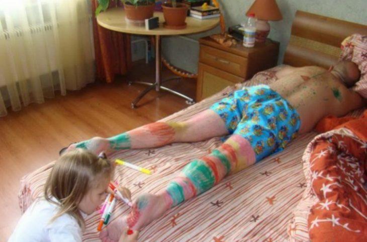Вся правда о родительской жизни после рождения ребенка, 40 смешных фото