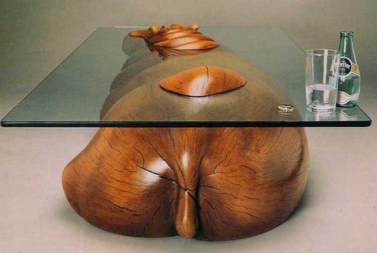 Необычные предметы мебели и интерьера, вдохновлены самой природой