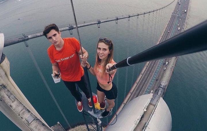 Инстаграм-блогеры, рискующие жизнью ради эффектных фото