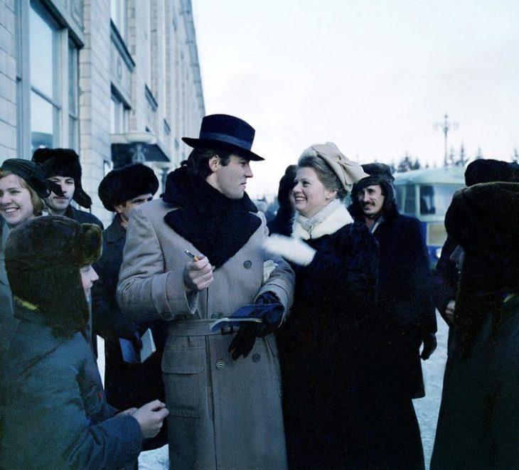 35 малоизвестных фото советских знаменитостей