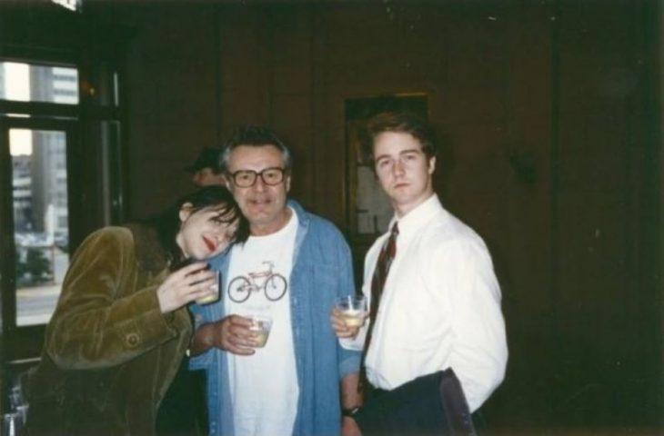 Courtney Love, Milos Forman, Edward Norton