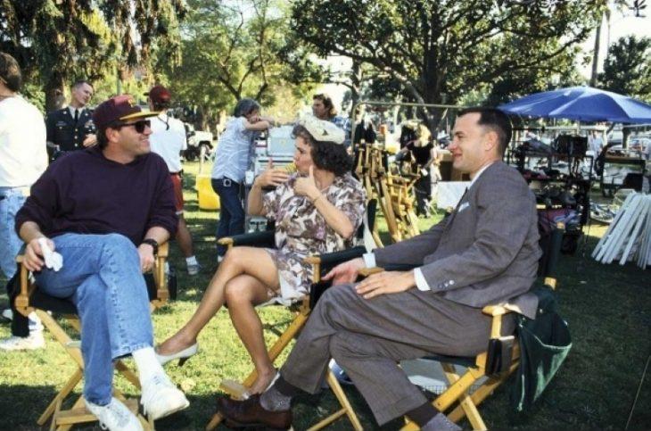 Robert Zemeckis, Sally Field, Tom Hanks