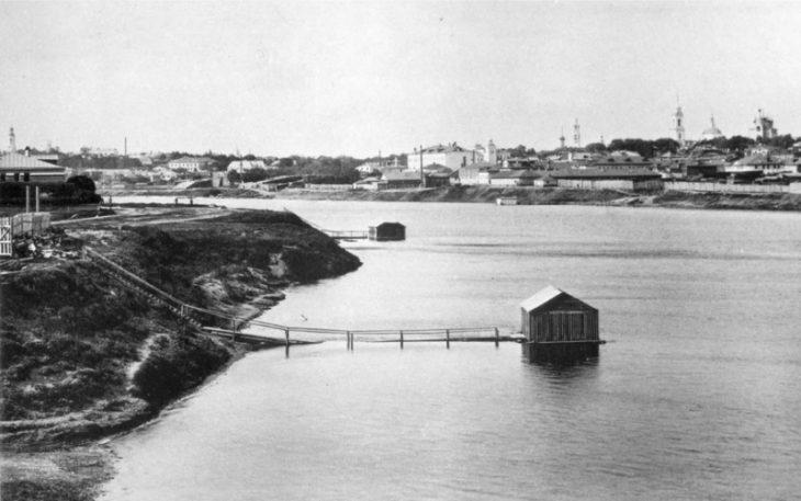 Moskva vid ot Borodinskogo mosta