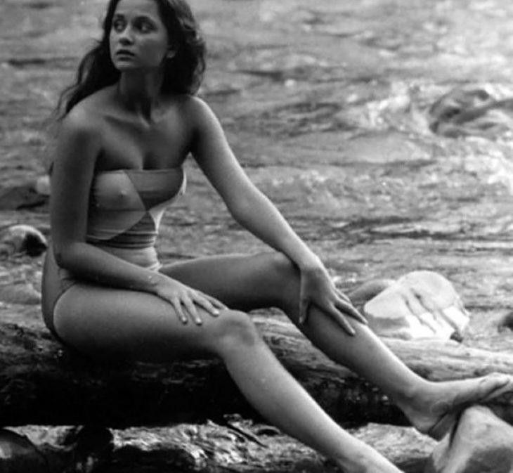 sovetskiye aktrisy znamenitosti na plyazhe Ol'ga Kabo