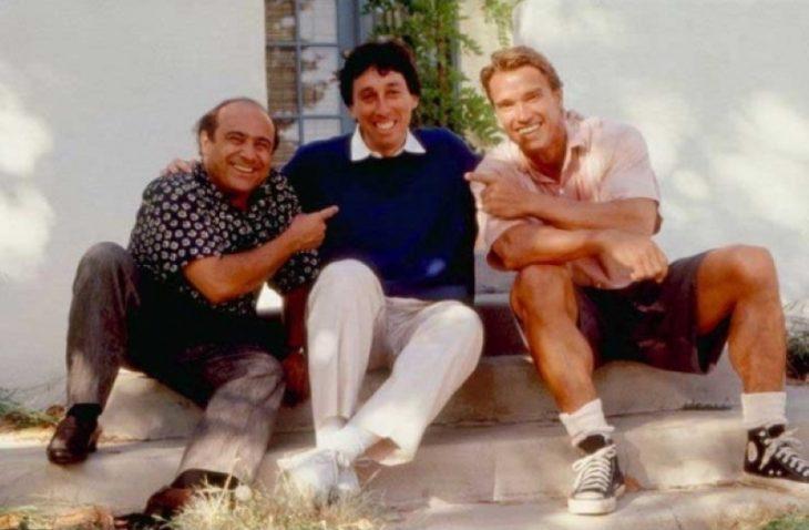 Danny DeVito, Ivan Reitman, Arnold Schwarzenegger