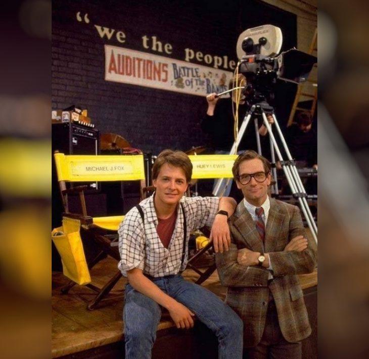 Michael J. Fox, Hughie Lewis