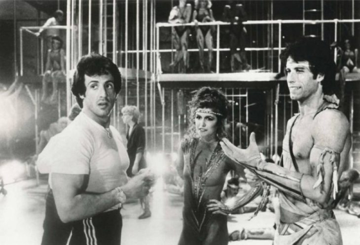 Finola Hughes, Sylvester Stallone, John Travolta