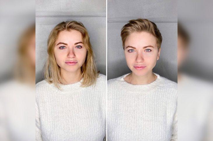 девушки с короткими волосами