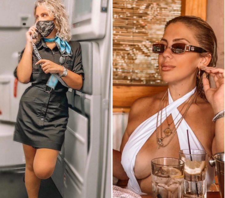 Красивые стюардессы в форме и без нее: 30 фото